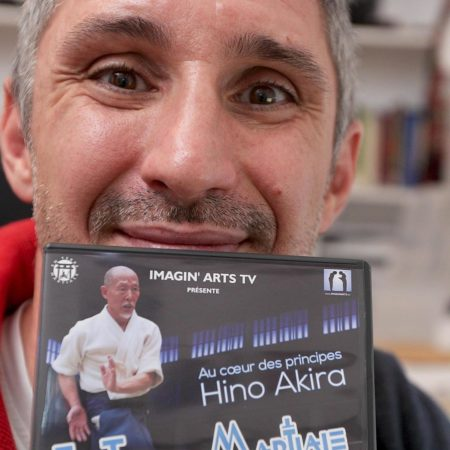 lionel froidure avec DVD hino akira