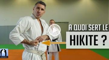 A quoi sert le hikite en karate ? vidéo avec Lionel Froidure
