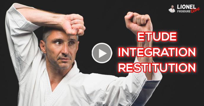 étude, intégration et restitution d'une technique martiale - vidéo avec Lionel Froidure