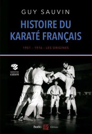 histoire du karaté français - couverture livre