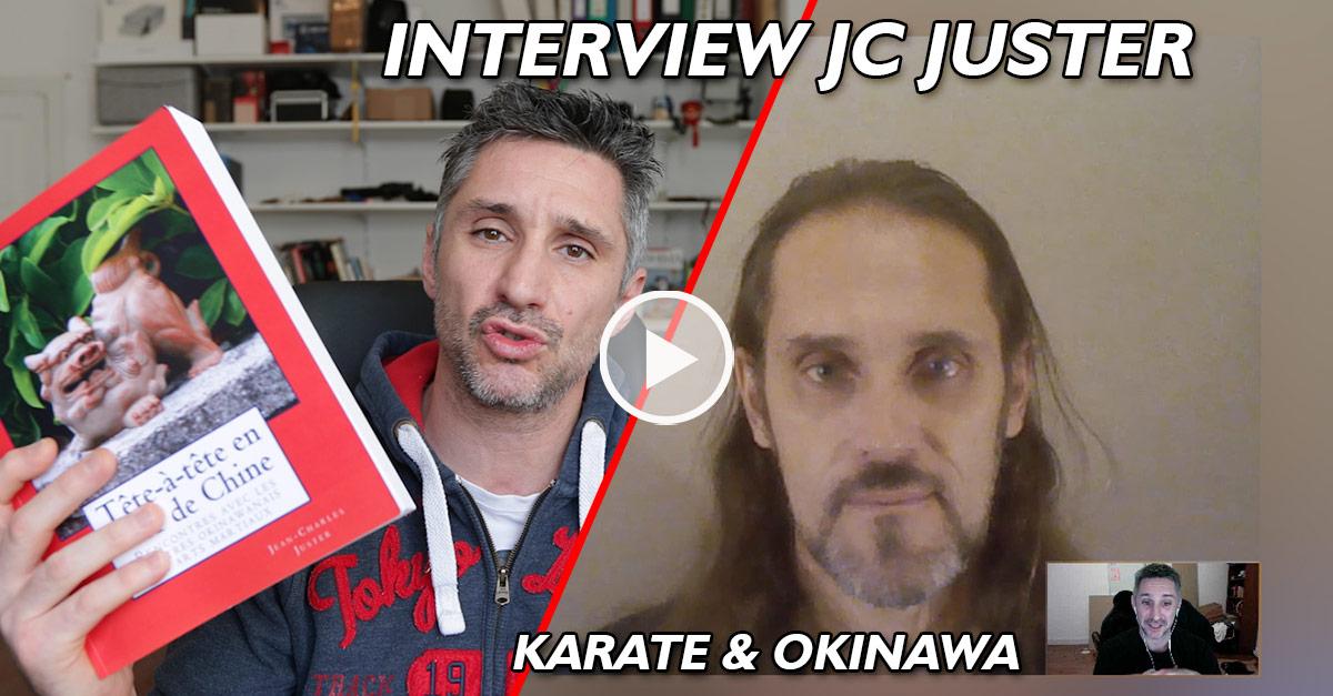 Interview JC Juster - ses livres sur les arts martiaux à Okinawa [vidéo]