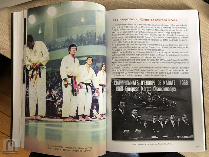 karate championnats europe 1968