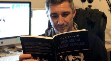 Livre histoire du karaté français par Guy Sauvin