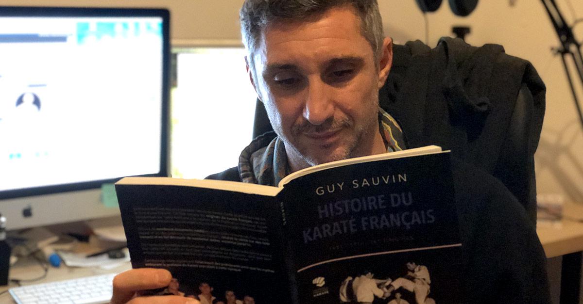 Histoire du karaté français par Guy Sauvin [livre]