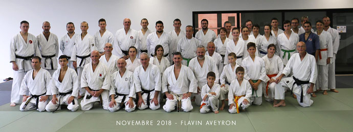 stage karate lionel froidure aveyron 2018