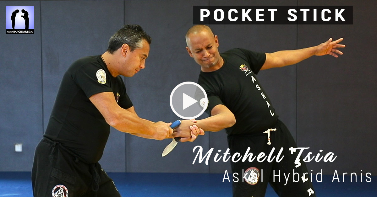 Pocket Stick - Askal Hybrid Arnis avec Mitchell Tsia [vidéo]