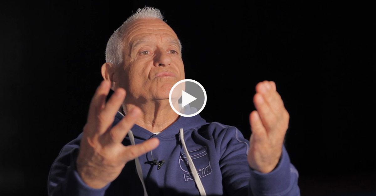 Jean-Pierre Lavorato, expert fédéral karaté en 2001 [vidéo]
