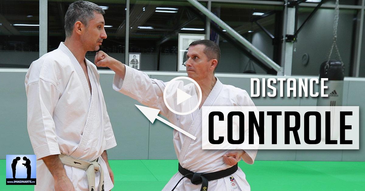 Distance et contrôle - Karaté [vidéo]