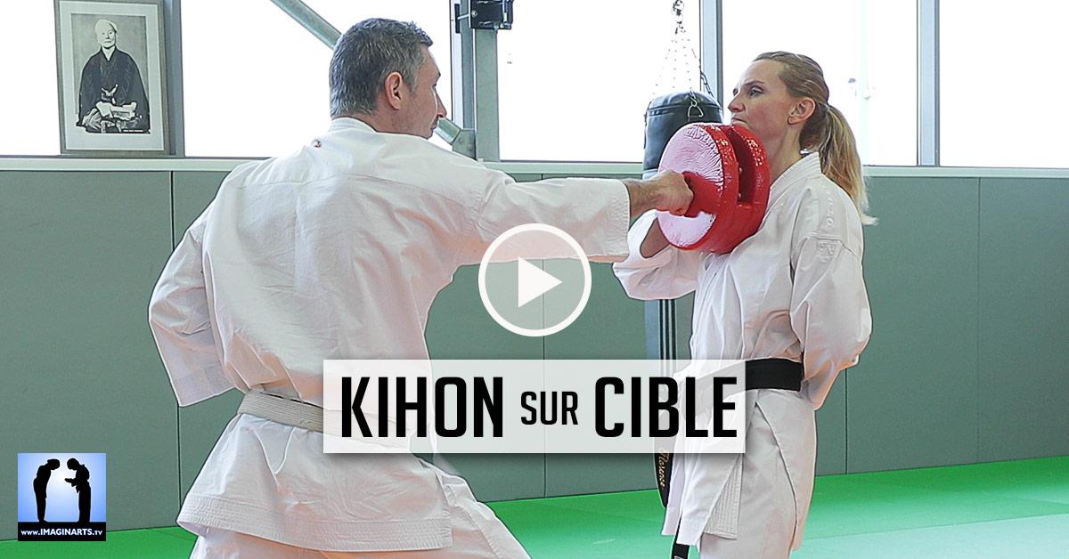 Kihon sur Cible - Karate [vidéo]