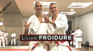 interview lilian froidure 7e dan karate