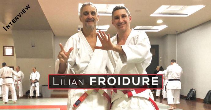 interview lilian froidure 7e dan karate