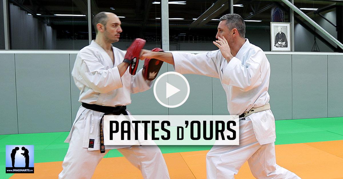 Pattes d'ours - KARATE [vidéo]