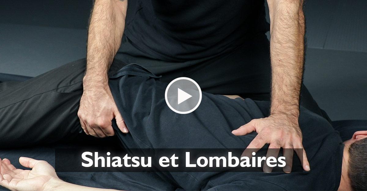 Shiatsu et lombaires [vidéo]