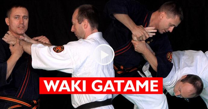 Waki Gatame / Hiji Kudaki - clé de coude avec Philippe Galais