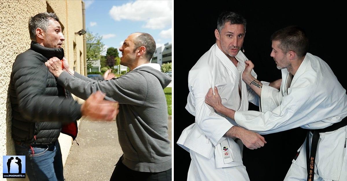 dvd karate defense avec Lionel Froidure