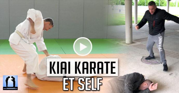 kiai karate et self-défense vidéo