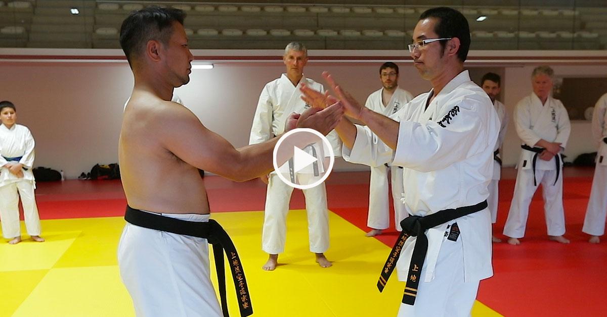 Kansho Uechi - Soke du Uechi Ryu Karate