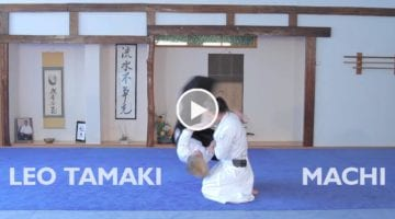 Léo Tamaki - Aïkido Machi