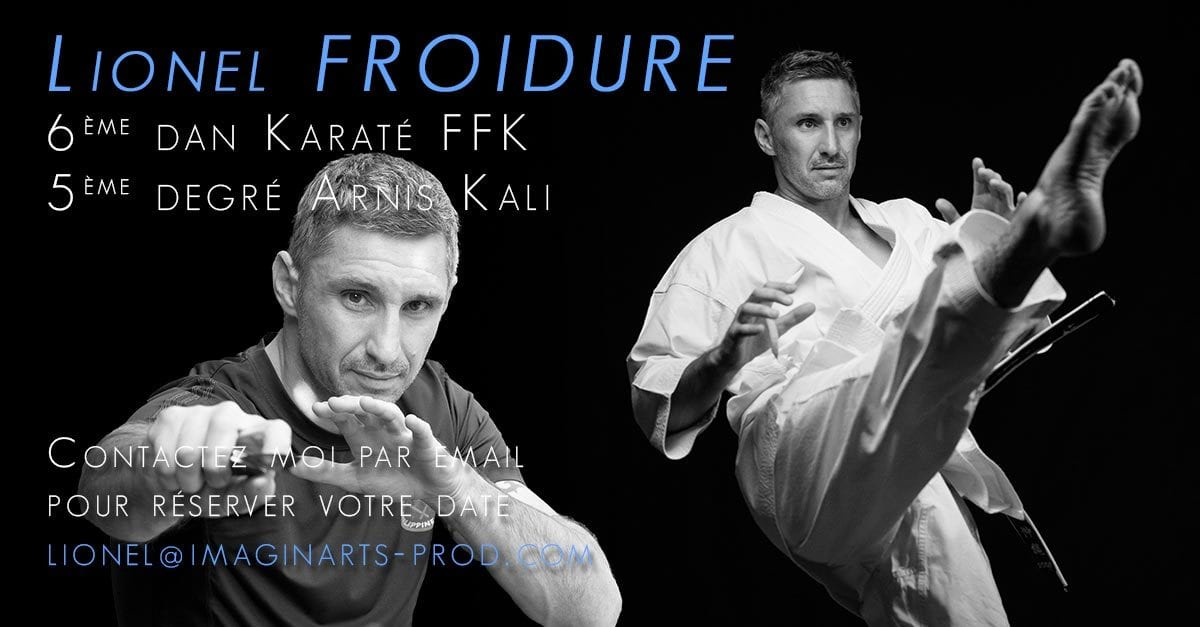 Stages avec Lionel Froidure - Karaté et ARnis Kali Eskrima