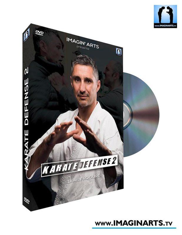 DVD karaté defense avec Lionel Froidure