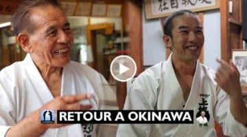 Rencontre avec les sensei de Okinawa 2019