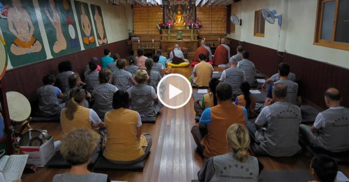 chants bouddhistes en corée du sud - golgulsa