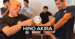 Hino Akira sensei à Okinawa 2019