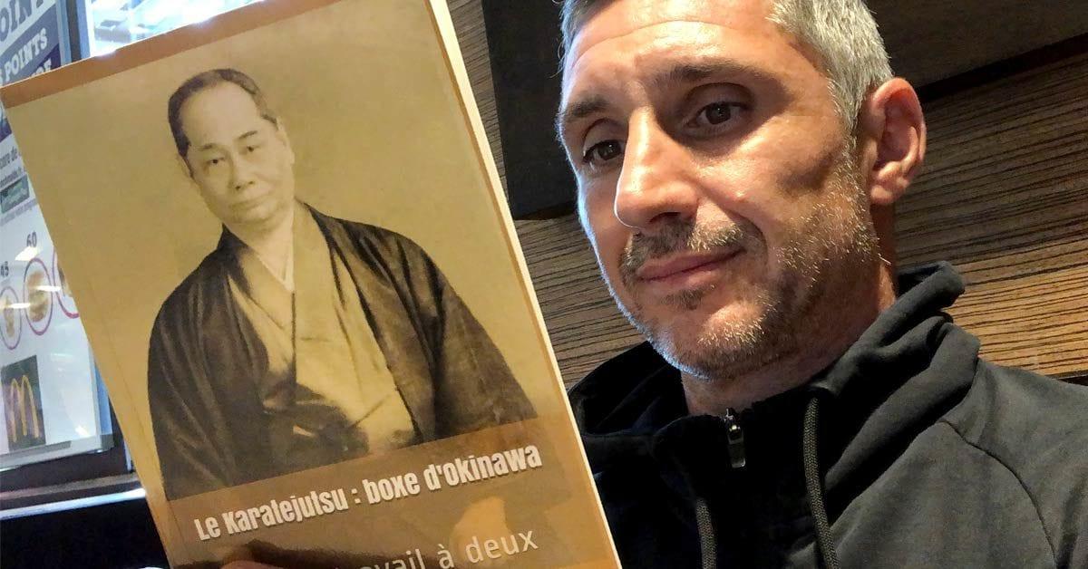 Motobu Choki sensei - Livre de Karaté Okinawa combat à deux