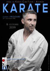 Stage karaté Aveyron avec Lionel Froidure - 18 octobre 2020 à Flavin