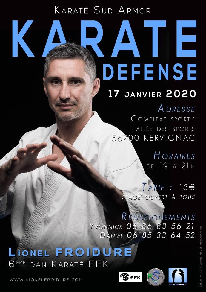 Stage Karaté Défense – Kervignac