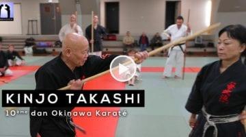 stage kobudo avec Kinjo Takashi sensei