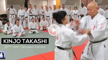 Kinjo Takashi Okinawa Karate Koburyu - Vidéo