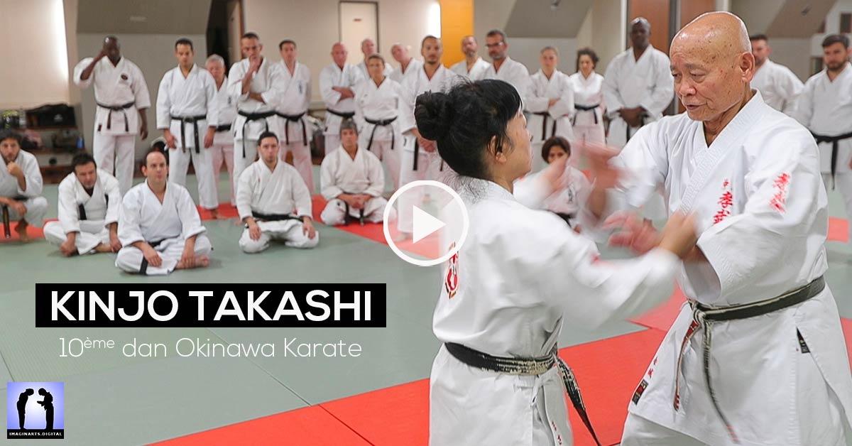 Kinjo Takashi sensei - Okinawa Karate - Vidéo