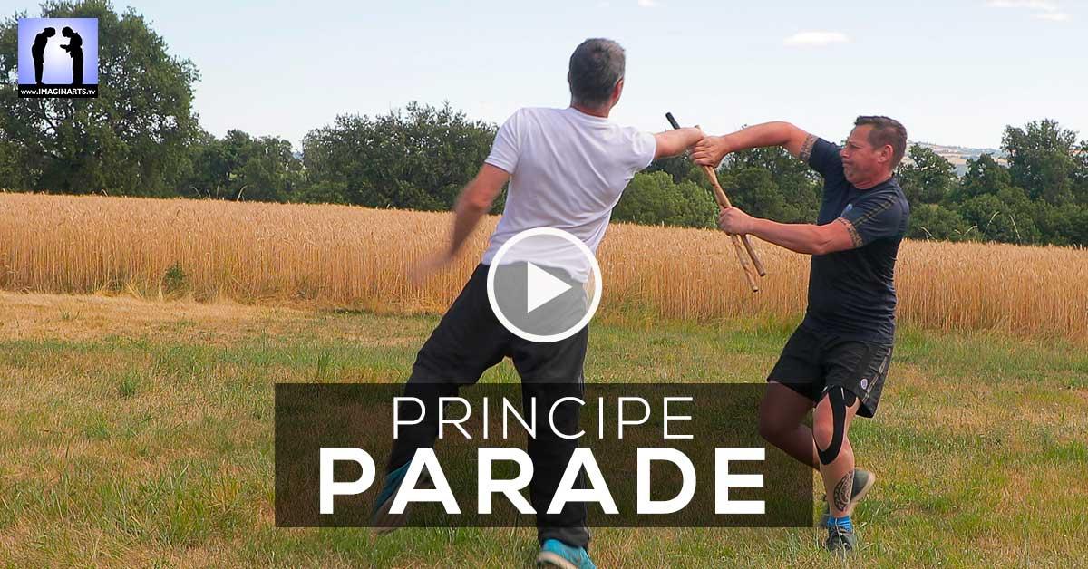 Principe de PARADE en Arnis Kali [vidéo]