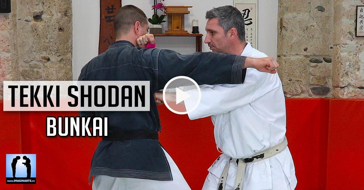 Bunkai Tekki Sodan - karaté [vidéo]