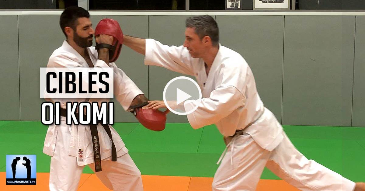 Enchaînement et Oi Komi – Karate [vidéo]