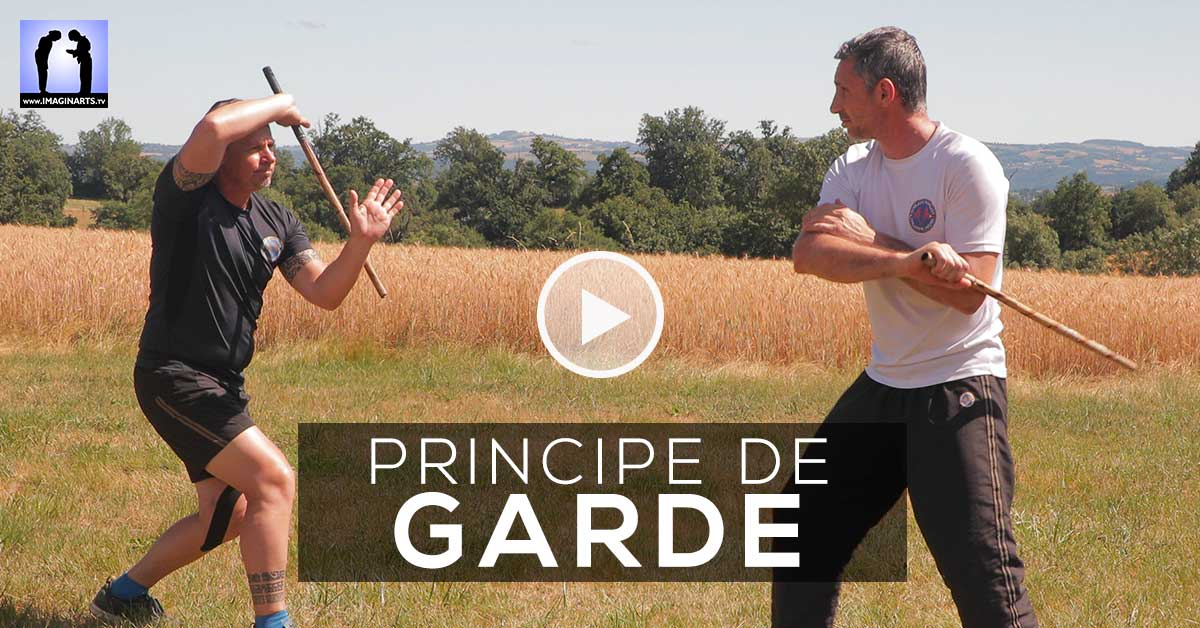 Principe des GARDES en Arnis Kali [vidéo]