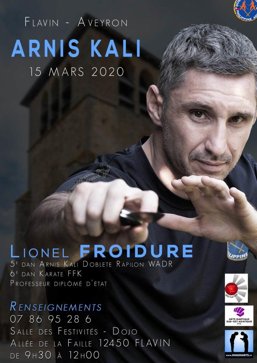 ANNULE [coronavirus] Stage Arnis Kali avec Lionel Froidure – Flavin [12]
