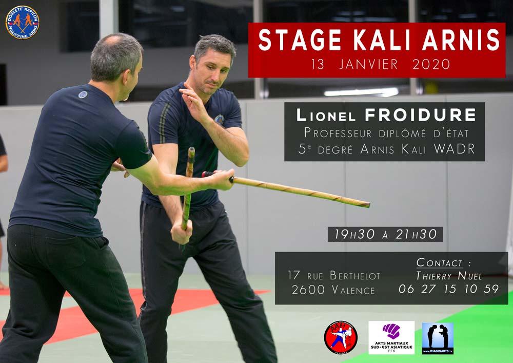 Stage Arnis Kali – Valence