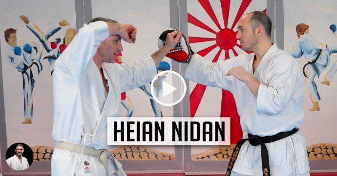 vidéo bunkai heian nidan avec Lionel Froidure