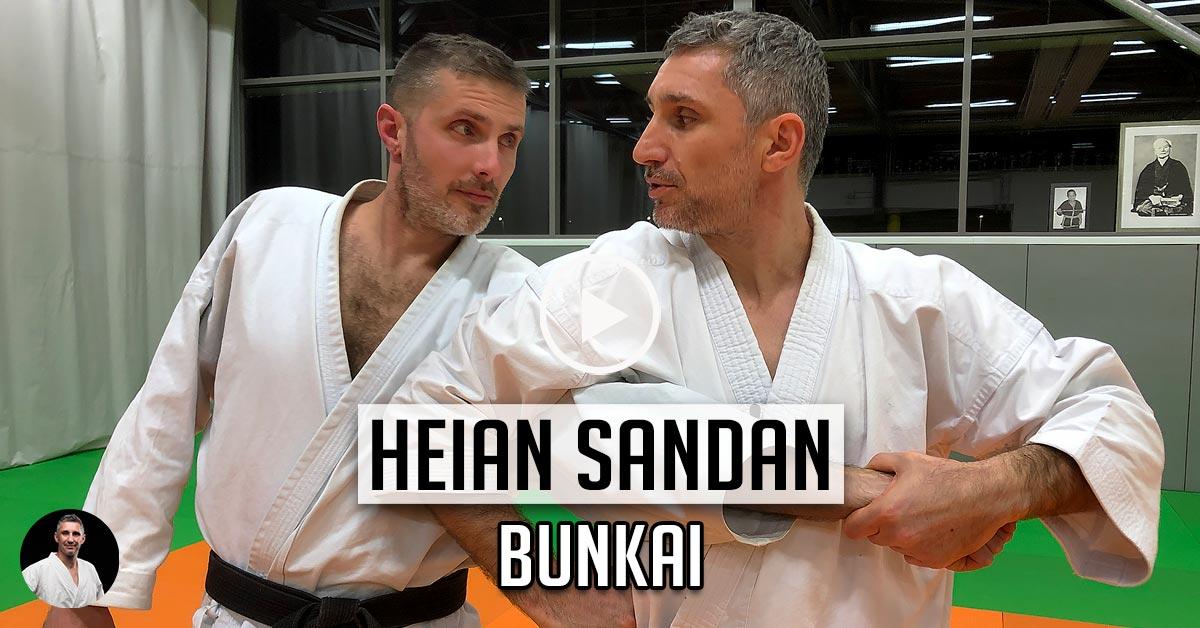 Bunkai Heian Sandan – karaté [vidéo]