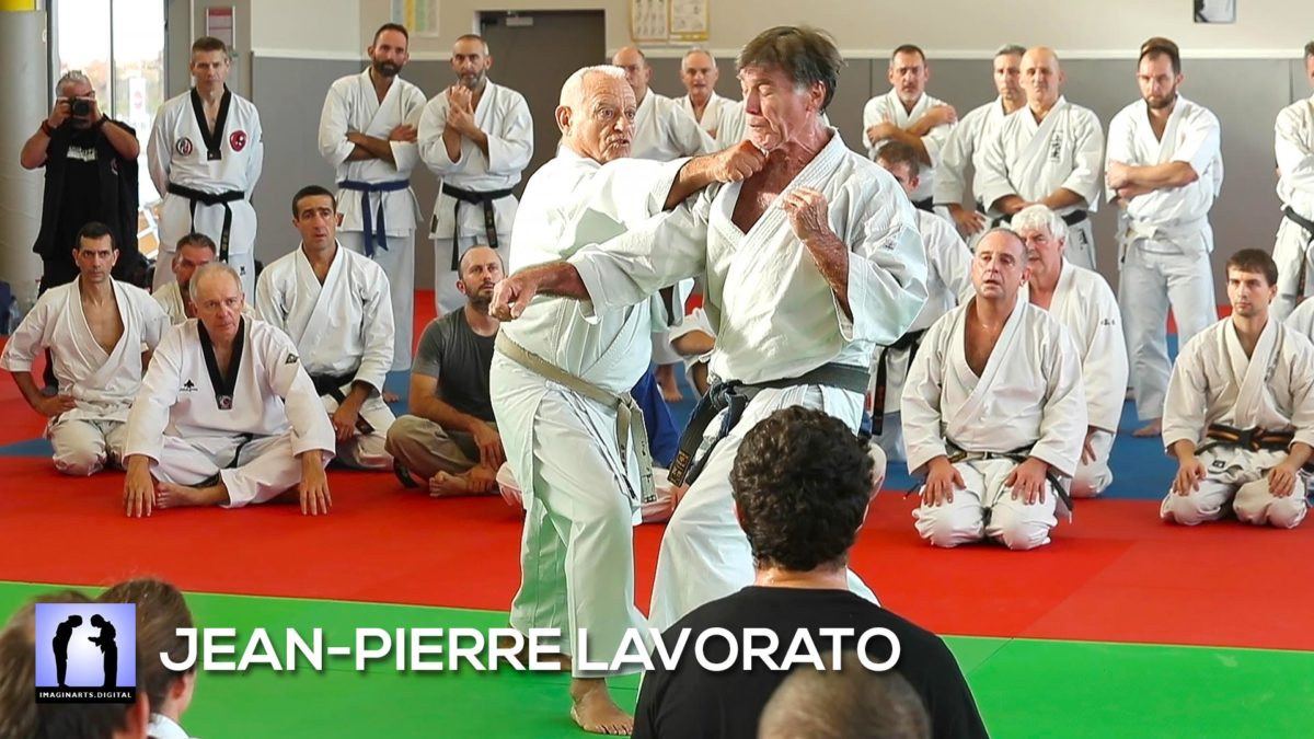 Jean-Pierre Lavorato au Masterclass 2019 - KARATE SHOTOKAN