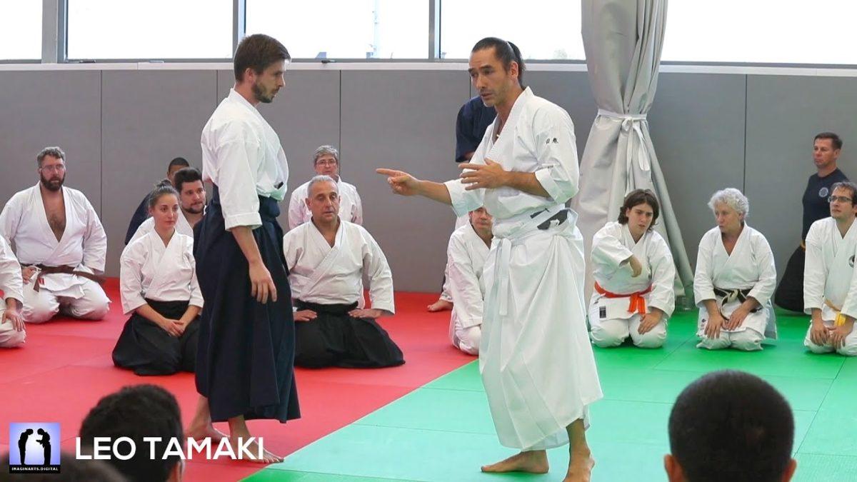 Léo Tamaki au masterclass 2019 – AIKIDO
