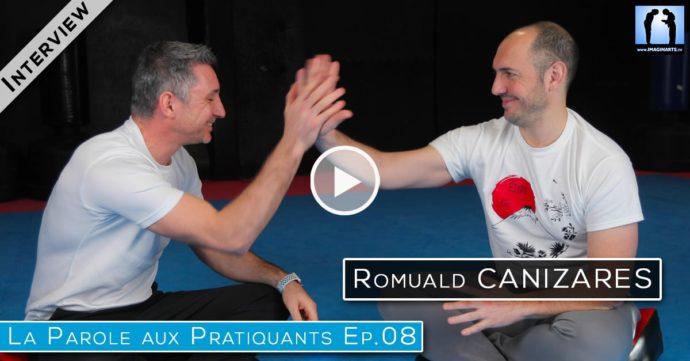 Interview karate Romuald Canizares