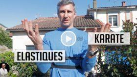 Karaté, élastique et maison