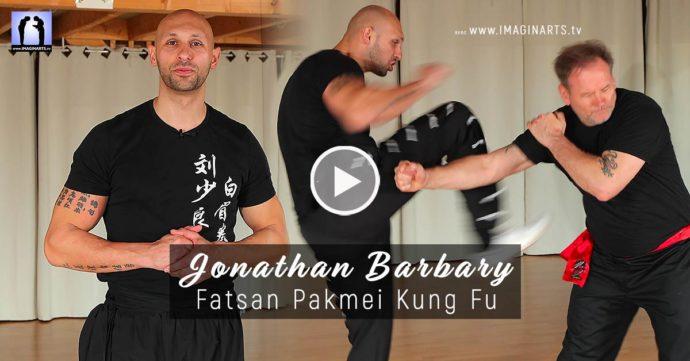 jonathan barbary pakmei vidéo coup de pied