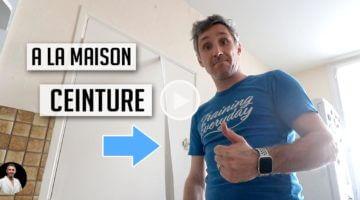 entraînement karaté à la maison avec une ceinture - Lionel Froidure