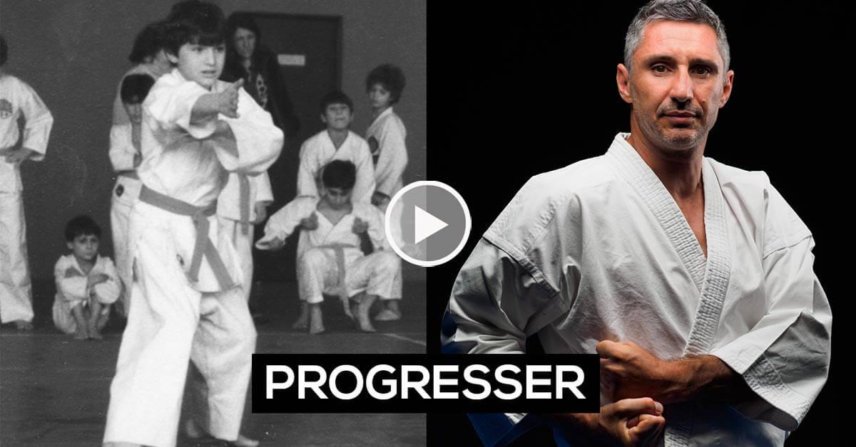 Progresser en karaté : des années de pratique