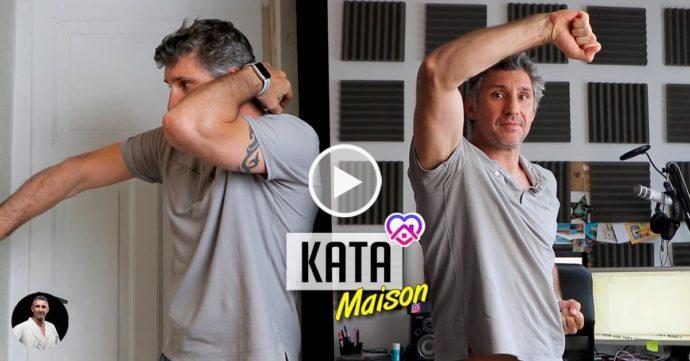 kata à la maison karaté avec Lionel froidure