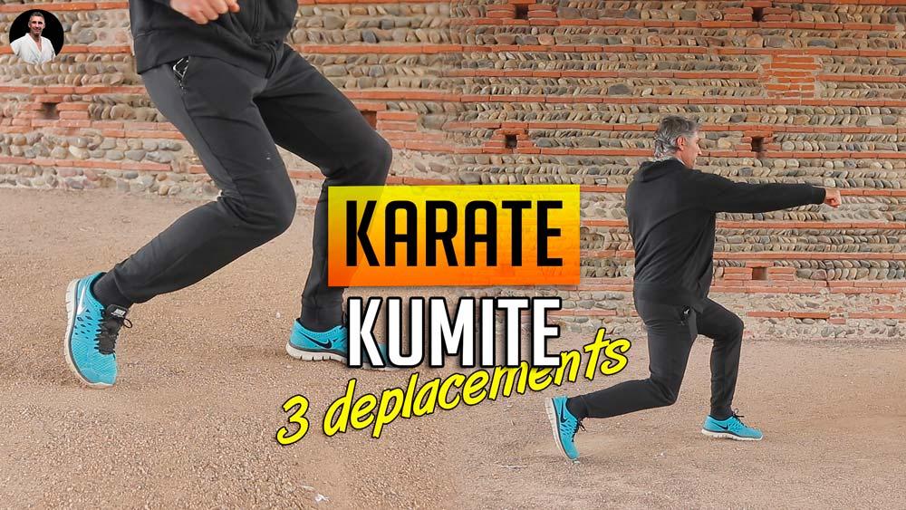 3 déplacements en Kumite – Ashi